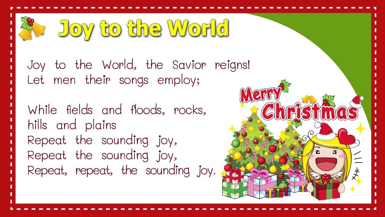 Joy To The World (Lyrics) - YouTube
