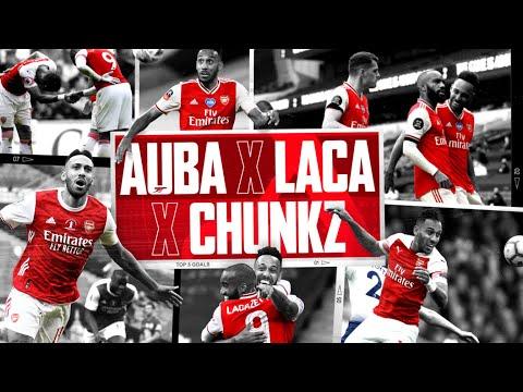 I WAS BUZZING! | Aubameyang, Lacazette & Chunkz | Top 5 Arsenal goals ranked