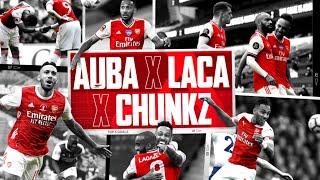 I WAS BUZZING!   Aubameyang, Lacazette & Chunkz   Top 5 Arsenal goals ranked