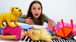 Барби дрессирует собаку - Видео для девочек