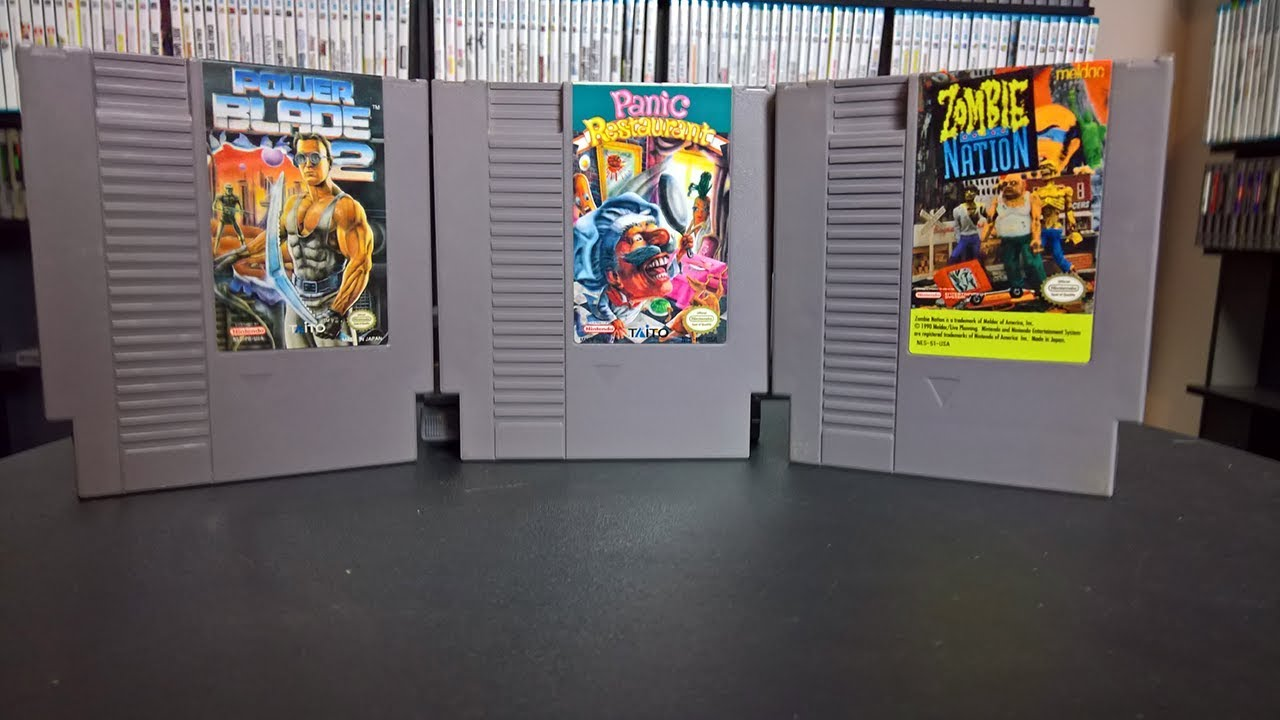 Uncommon and Scarce NES Games in My Collection