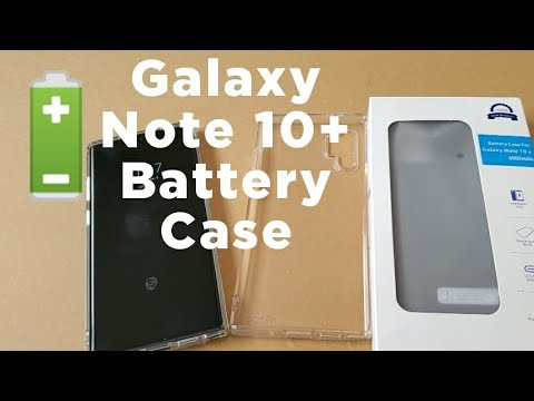 Galaxy Note 10 + Plus Battery Case Unboxing Review Ringke Air Fusion Mophie Zero Lemon