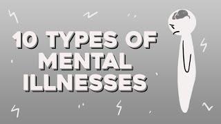 10 Common Mental Illnesses Crash Course