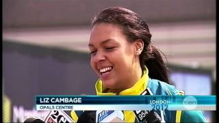 Liz Cambage Dunk makes Olympic History (News Report) Thumbnail
