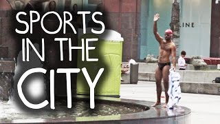 Street Olympics - Sports in the City, by Ministry of Funny