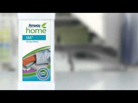 SA8 Средства для стирки от Amway Home - Презентация