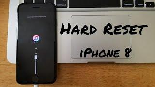 Hard reset iPhone 8 / 8 Plus, X, 7 / 7 Plus