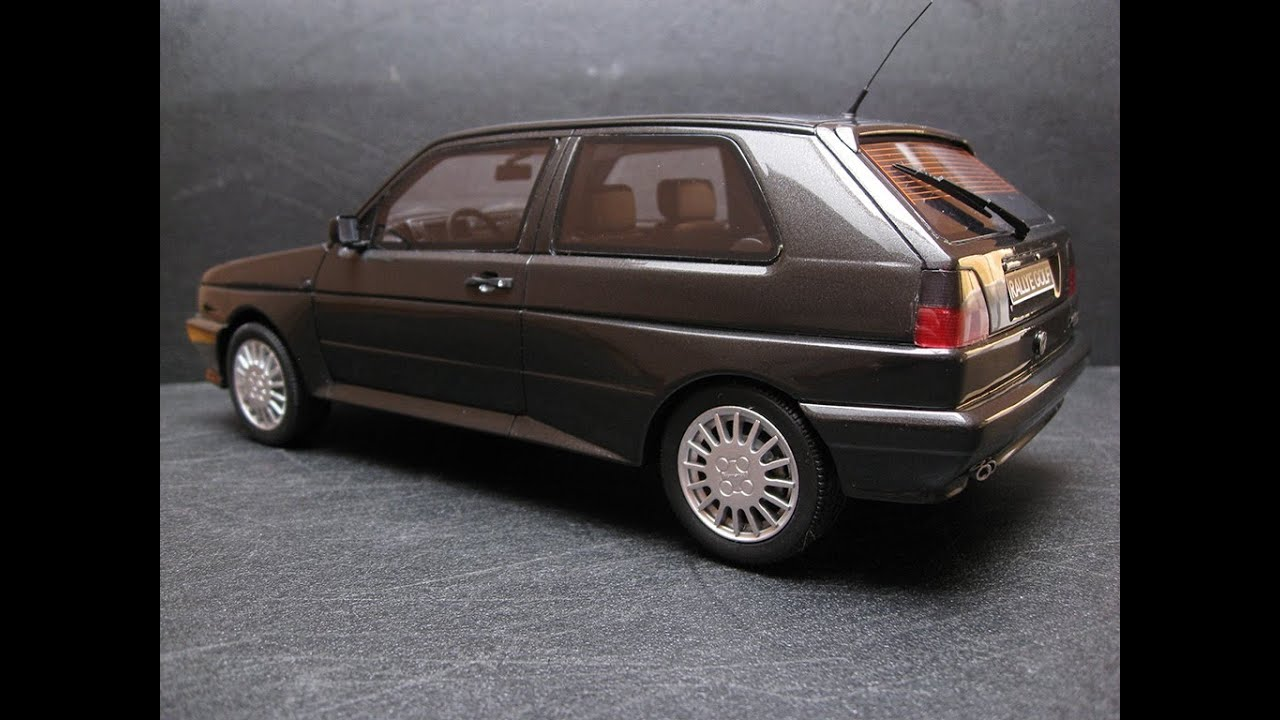 Volkswagen Golf 2 GTI G60 Rallye │1990 OttO mobile models 1:18 [OT056] - YouTube