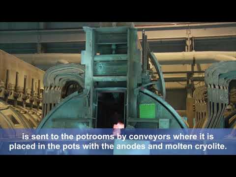 Alcoa Smelting Process
