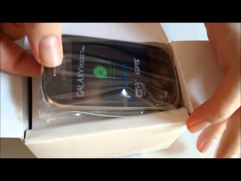 Unboxing - Samsung Galaxy Pocket Neo (S5310B)
