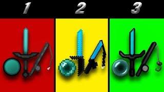 🔥 TOP 3 MEJORES TEXTUREPACKS PARA SKYWARS, UHC, EGGWARS, POTPVP y SURVIVAL 🔥
