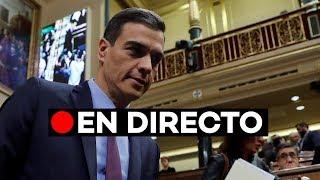 Pedro Sánchez comparece en el Parlamento Europeo