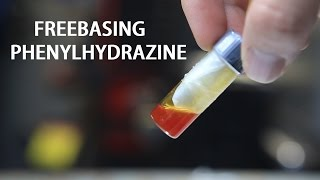 How to Freebase (Phenylhydrazine HCl as an example)