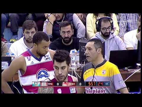 Trikala-Olympiakos 69-89 15.11.2015 Greek A1