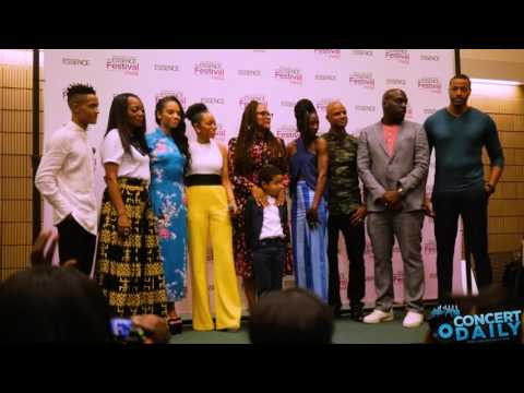 "ESSENCE FEST: Ava DuVernay and the ""Queen Sugar"" cast takes over the EMF press room"
