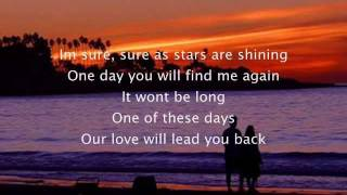 love will lead you back  lyrics