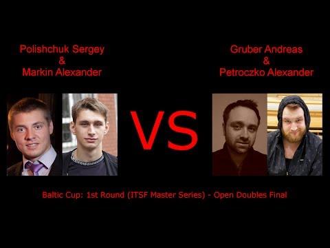 Polishchuk S./Markin A. versus Gruber A./Petroczko A.
