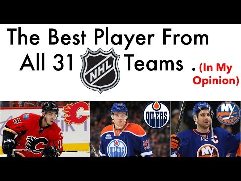 Ranking The Best Player From All 31 NHL Teams