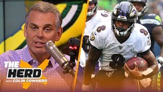 Colin Cowherd plays the 3-Word Game after NFL Week 7 | NFL | THE HERD