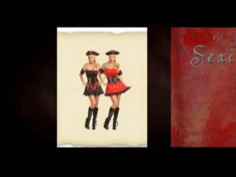 Sexy Women Pirate Costumes
