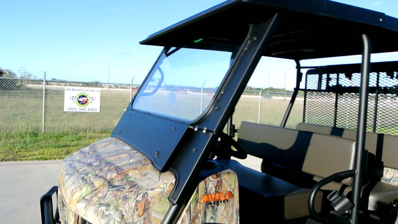 Custom Outfited Kawasaki Mule Trans Camo With
