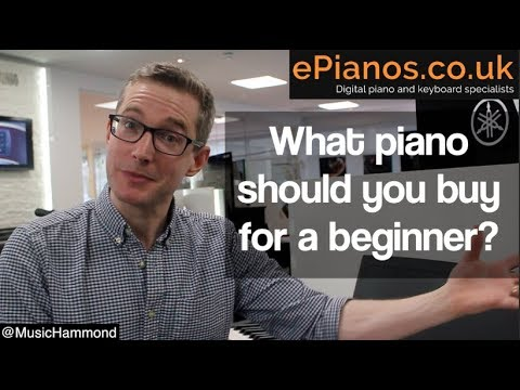 What piano should I buy for a beginner?