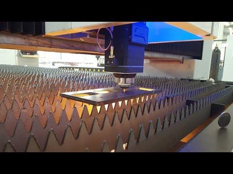 IPG 1000 watt Fiber Laser Cutting machine for 8mm carbon steel for KRRASS