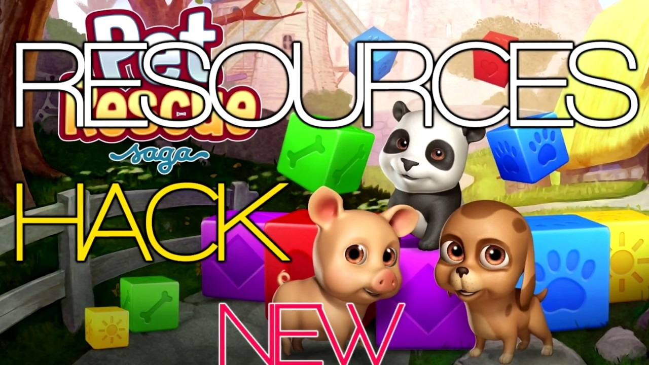 Pet Rescue Hack 3000000 Free Coins and Lives Cheats