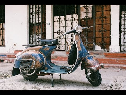 barn find 1965 vespa, will it run ?