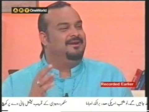 Best Interview & Qawwali of Amjad Sabri Qawaal
