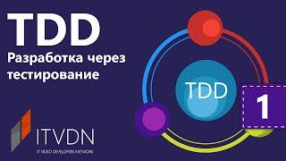 TDD - Разработка через тестирования. Урок 1. Введение.Основы TDD и Unit Тестирования.