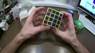 Розпакування Lightake.com Magic Cubes Z-cube Carbon 2x2, 4x4 і т. д.