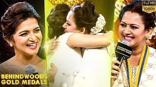 Archana and DD\'s First Ever Hugging Special Moment on Stage!! Archana gets Emotional!