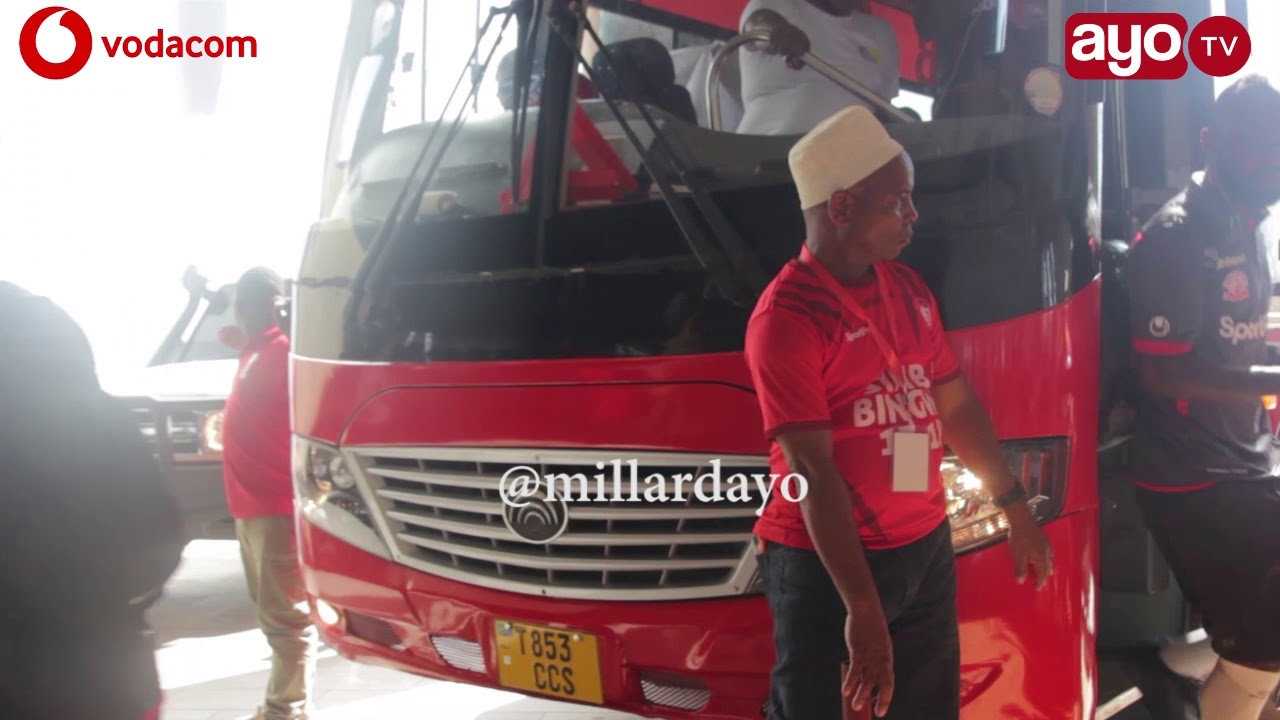 Wachezaji wa Simba SC na Asante Kotoko walivyowasili Taifa Simba Day