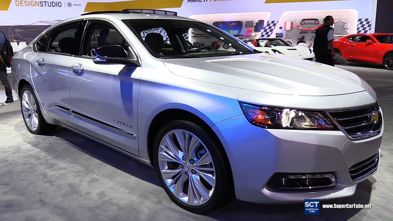 2017 Chevrolet Impala V6 Premier Exterior And Interior
