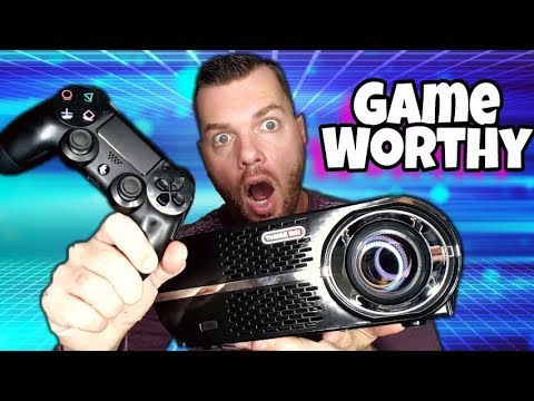 Budget Gaming Projector Only $200 | GP100 Review