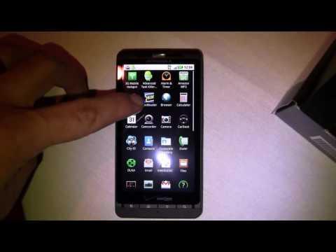 Motorola Droid X Unboxing