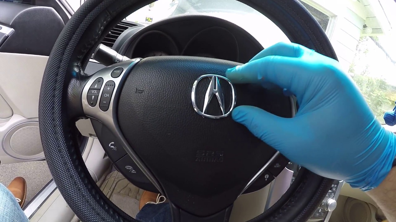 Acura TL Hondaall MakesSteering Wheel Emblem Replacement - Red acura emblem