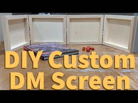 D&DIY Custom DM Screen