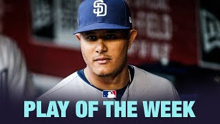 Manny Machado's fantastic throw is the Play of the Week for 4/15