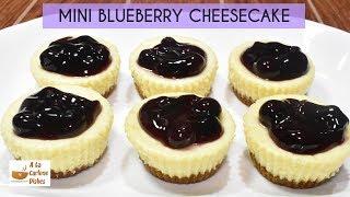MINI BLUEBERRY CHEESECAKE  Negosyo Recipe