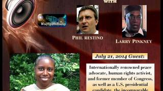 The Incomparable Cynthia McKinney on We Cannot Be Silent