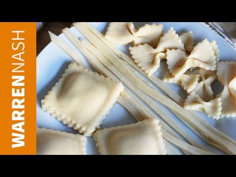 How to make Pasta without a Machine – Homemade & Fresh – Recipes by Warren Nash