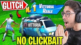 NEW GLITCH to WIN ALL PARTITEWithout doing ANYTHING (NO CLICKBAIT) Fortnite ITA