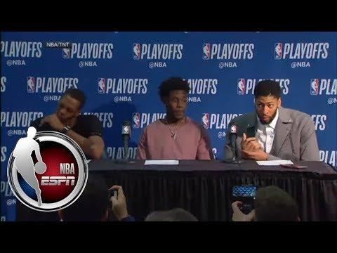 [FULL] Anthony Davis, Jrue Holiday, Rajon Rondo hope to build a legacy with Pelicans   NBA on ESPN