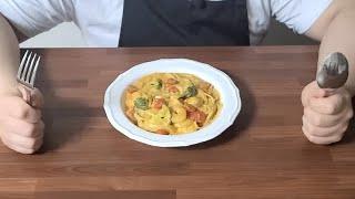[밀키트 리뷰] 갑각류맛 파스타 : 에슐리 쉬림프 비스…
