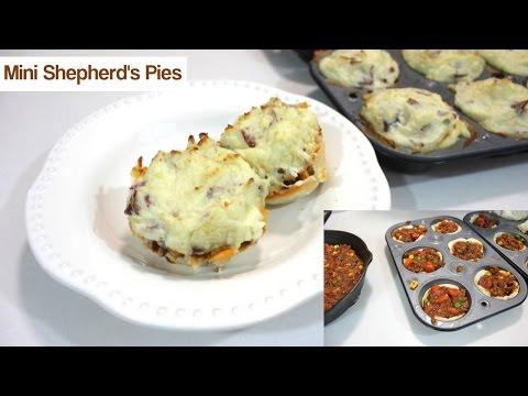 Shepherd's Pie Recipe: How To Make Mini Shepherds Pie With Ground Beef