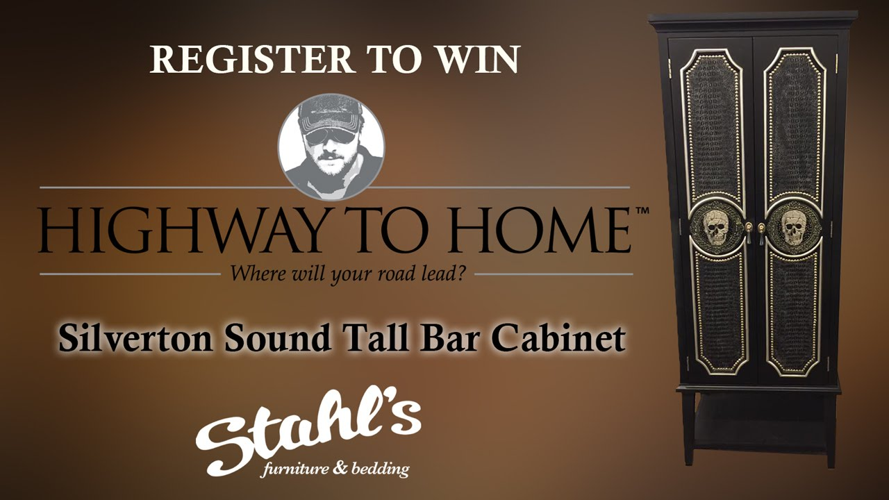 Eric Church Highway To Home Stahls Furniture Bar Cabinet