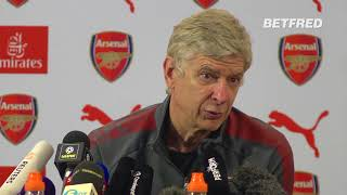 Arsene Wenger's Final Pre-Match Press Conference As Arsenal Manager