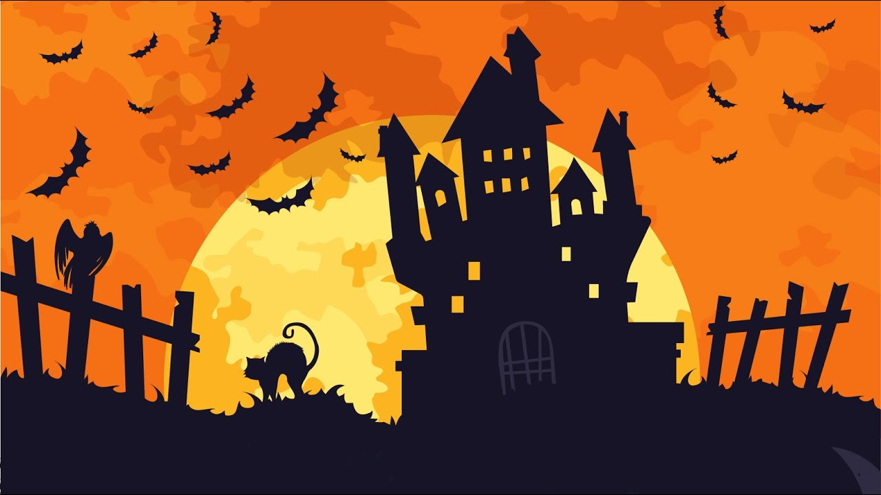 Halloween Music for Children ^o^ Instrumental Spooky ...